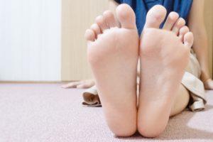 足 臭い 5本指靴下 ムレ サラサラ