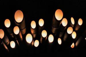 竹灯篭 光のアート