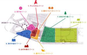山口ゆめ花博 8つのゾーン