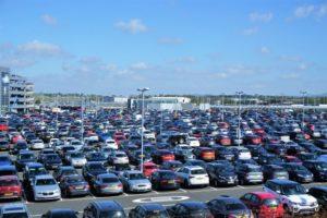 駐車場 迷子