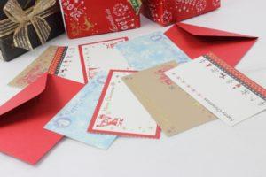 クリスマス メッセージ 英語 サンタ 子供